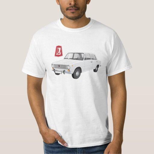 VAZ-2101 Lada 1200 DIY (white)   #lada #vaz-2101 #badge #tshirt #automobile #white