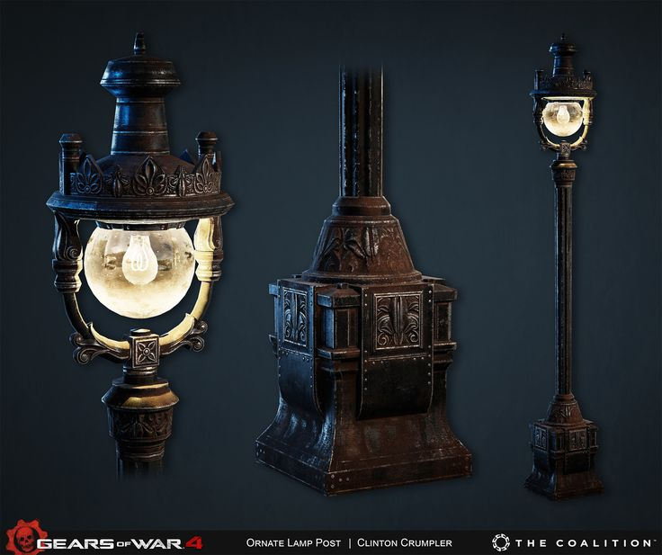 Environment Assets, Props, Textures, etc from Gears of War 4.