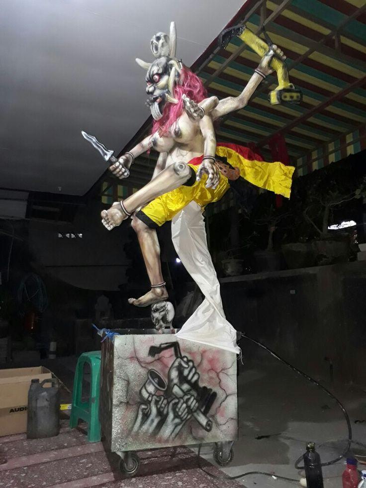 Ogoh-ogoh Bali Tolak Reklamasi