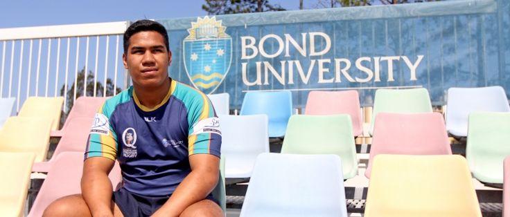 Queensland Reds sign BURC's Alex Mafi | Bond University Sport