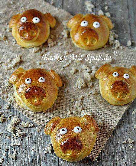 Glücksschweinchen - Rezept (Breakfast Party)