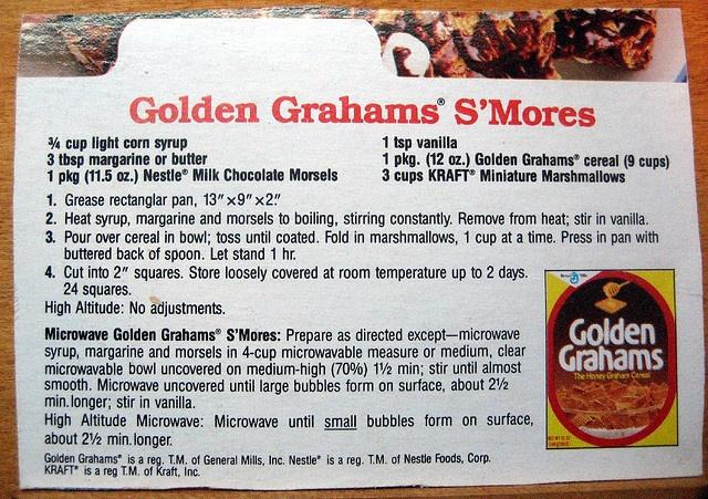 golden grahams smores | Golden Grahams Smores | Flickr - Photo Sharing!