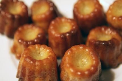 Cannele pastries