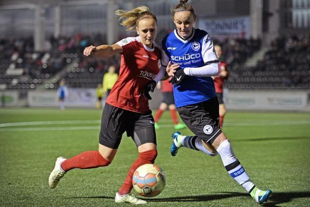 Frauenfußball: DSC Arminia trifft auf auswärtsstarken BV Cloppenburg – Waldstadion Quelle gesperrt +++  Die eigene Spielfreude konservieren
