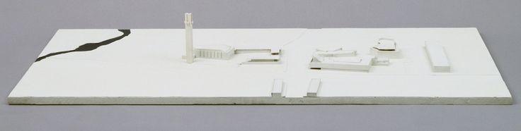 "Alvar Aalto. Town Center, Seinajoki, Finland. 1958-87. Wood. 5 3/4 x 47 1/4 x 23 3/4"" (14.6 x 120 x 60.3 cm). David Rockefeller Jr. Fund, gift of Alvar Aalto Architects Ltd. and Department Purchase Fund. 488.1990. Architecture and Design"