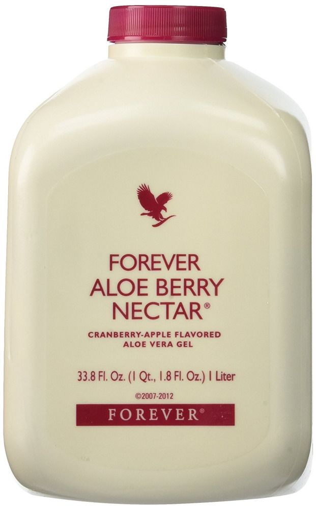 Forever Living Drink Aloe Vera Gel Pulp Liquid 1 Lt Berry Nectar