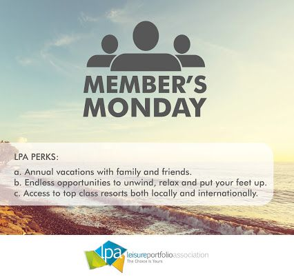 Leisure Portfolio Association - #MemebersMonday – want to know what the perks of being an LPA member are?
