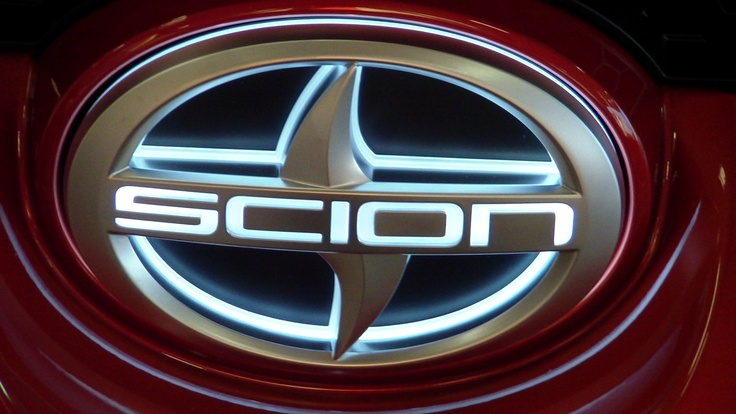Scion logo illuminates on Release Series xB! Thats BA