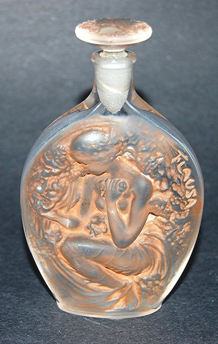 Flausa, Roger et Gallet Perfume Bottle By Rene Lalique - France c.1914