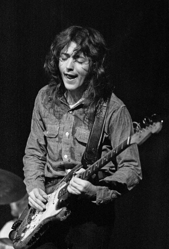Rory Gallagher when he smiles, you smile