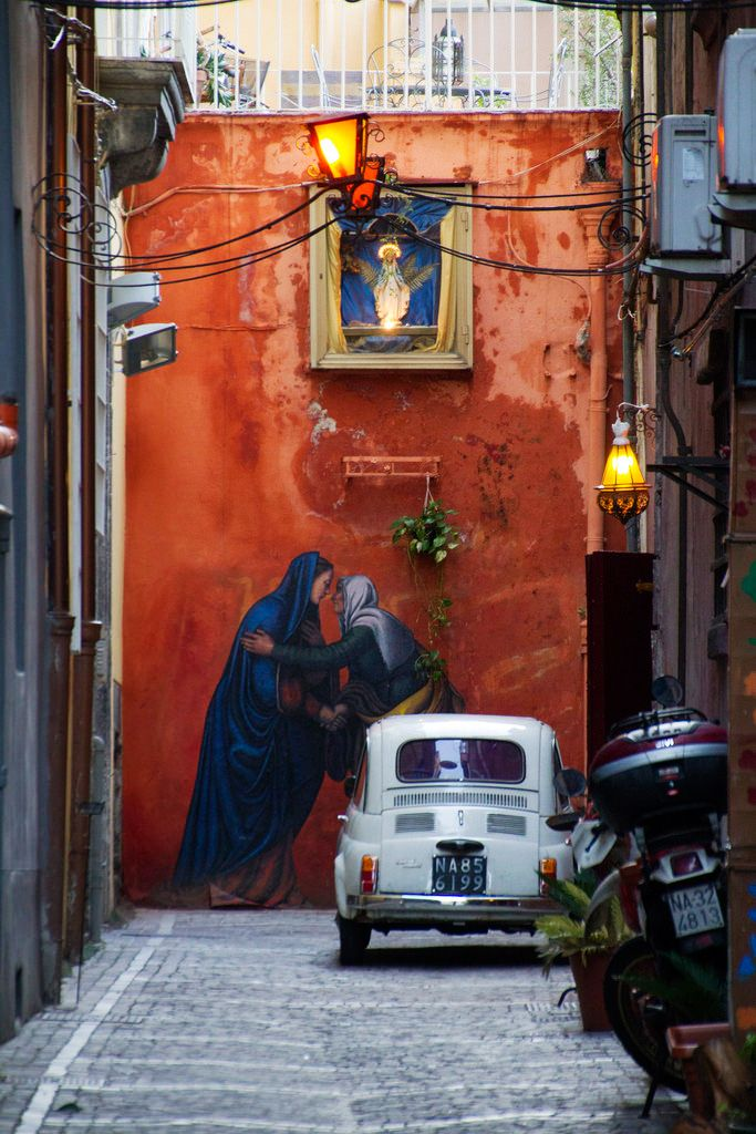 Streets of #Naples, Italy