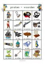 Woordenblad Piraten
