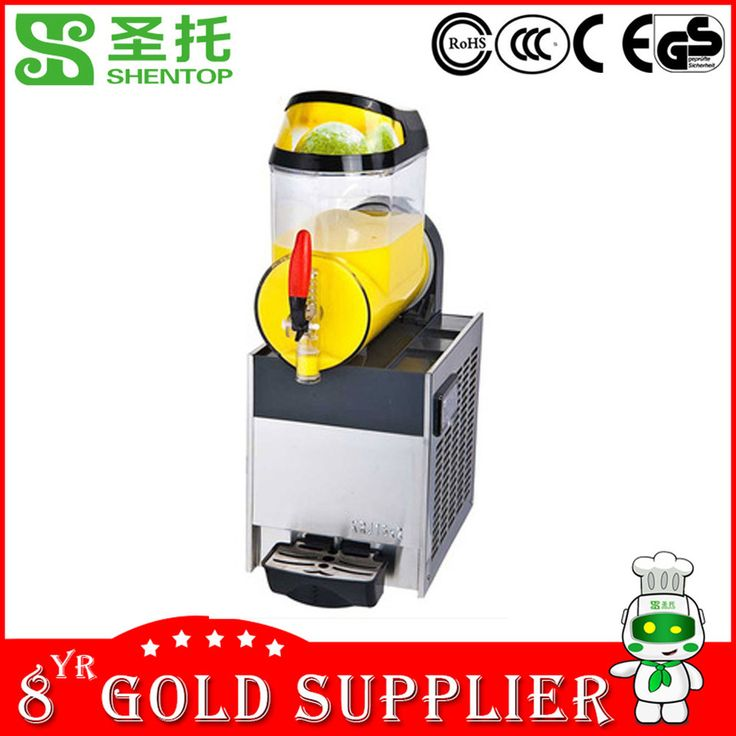 SHENTOP industrial Slush Machine STXR10-J1 Single cylinder 10L CE approved commercial daiquiri machine