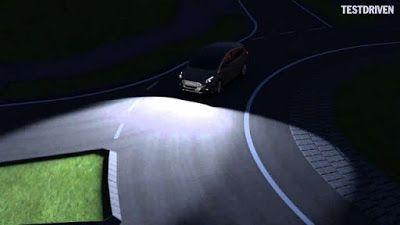 Αντιγραφάκιας: «Έξυπνα» φώτα αυτοκινήτου που εντοπίζουν κινδύνους...