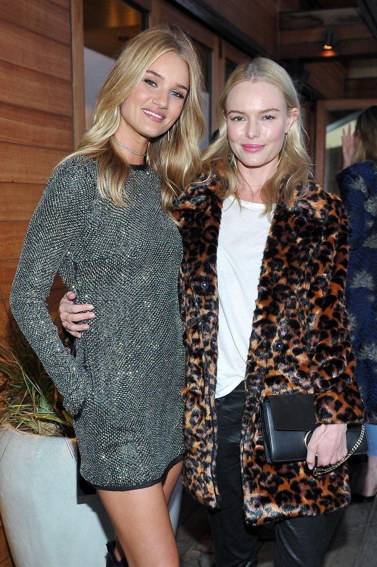 UGG toasted their new global women's brand ambassador Rosie Huntington-Whiteley with a beachside fête at Soho House's Little Beach House Malibu.