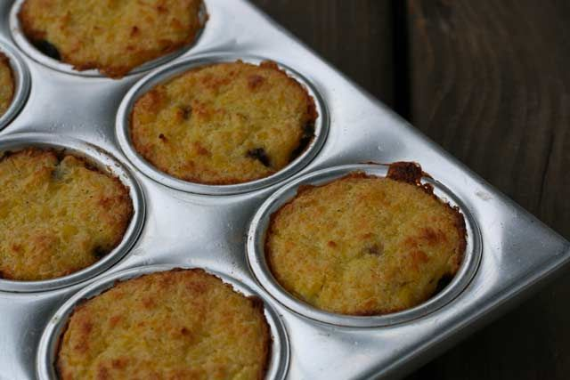 A yummy Chilean dish - Pastel de choclo. It's a corn casserole with ground beef, olives, and a sweet corn topping.    http://www.cheaprecipeblog.com/2011/11/pastel-de-choclo-recipe/