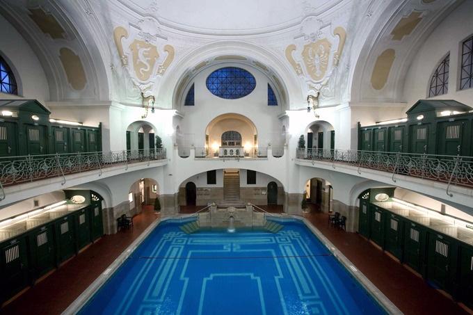 piscine style Art nouveau munich
