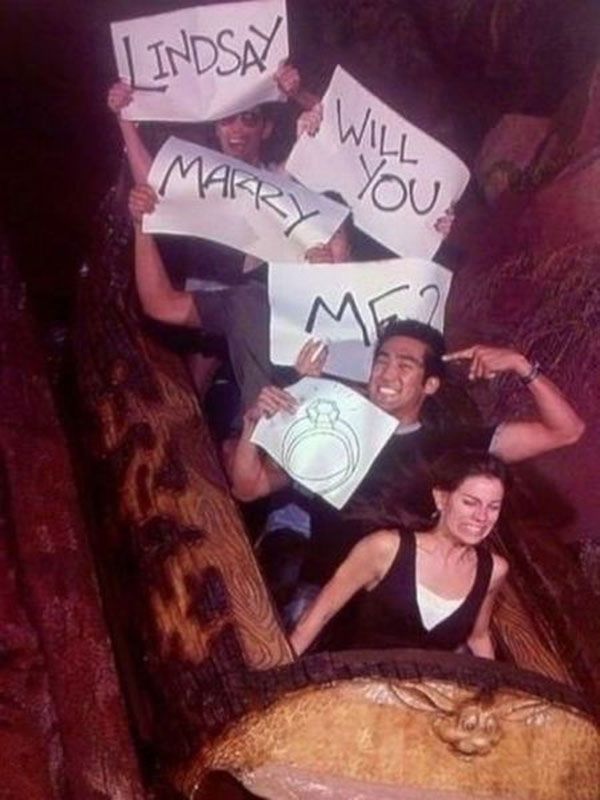 5 Very Unusual Wedding Proposals... #weddings #proposal #marriage