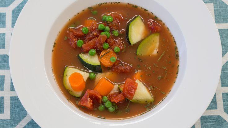 Instant Tomato & Veggie Soup