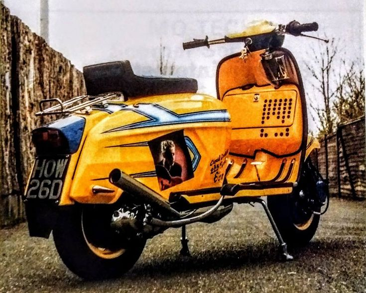 Liquid cooled Lambretta