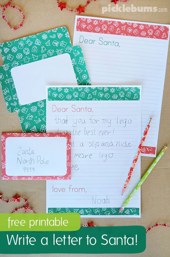Free Customized Letters from Santa