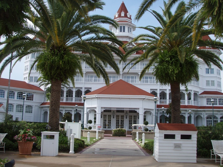 The Grand Floridian Resort - loved it!