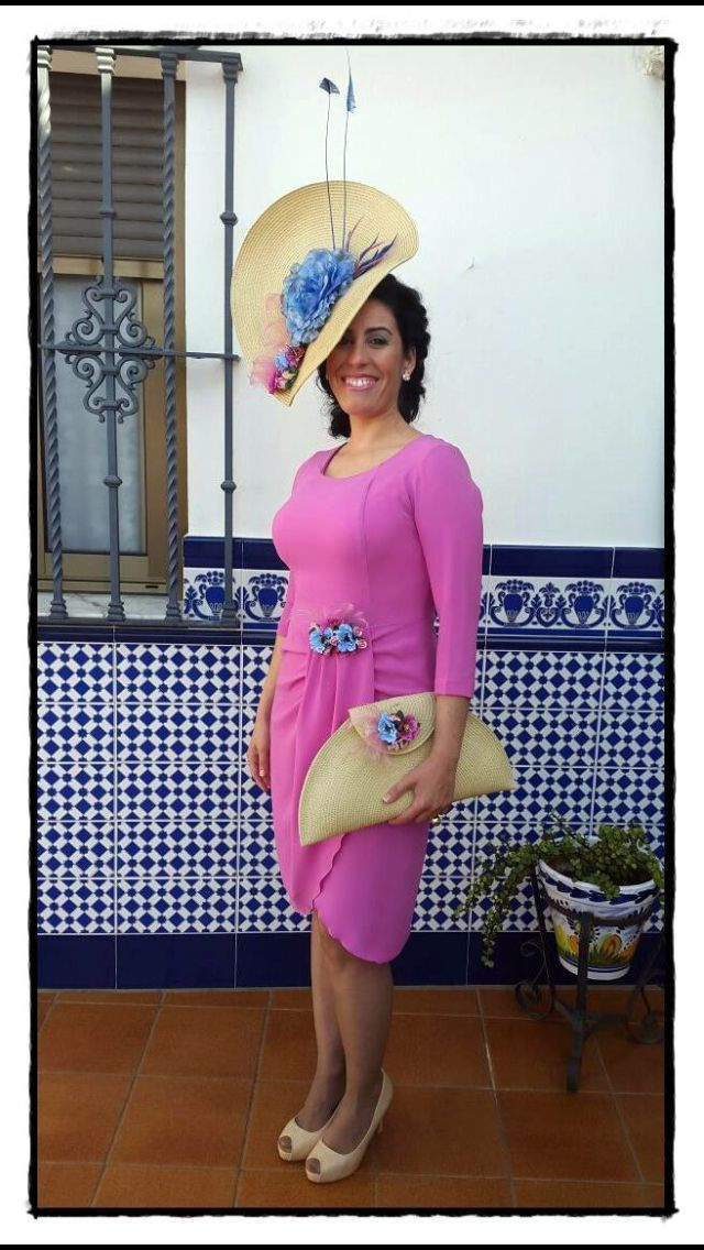 15 best Vestidos invitada de rosa images on Pinterest | Roses, Hot ...