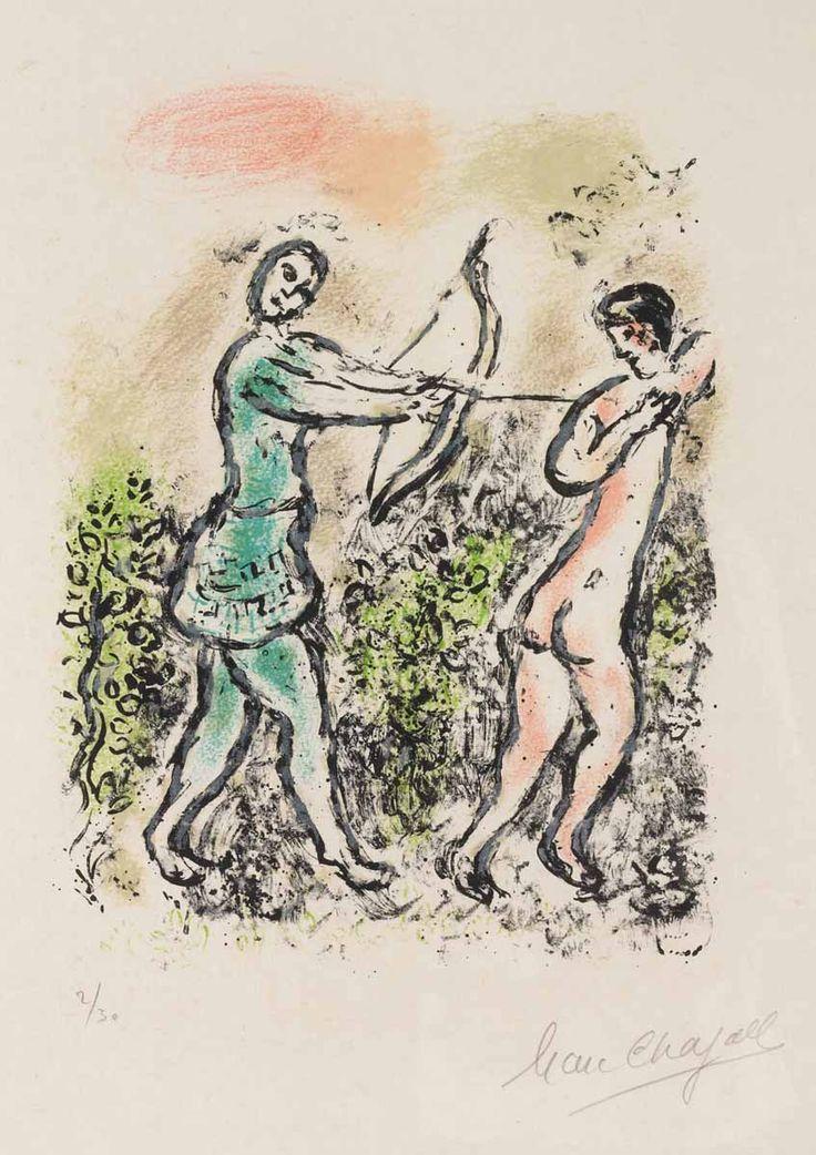 Chagall, Ulysses' Bow (M.818, L'Odyssée)