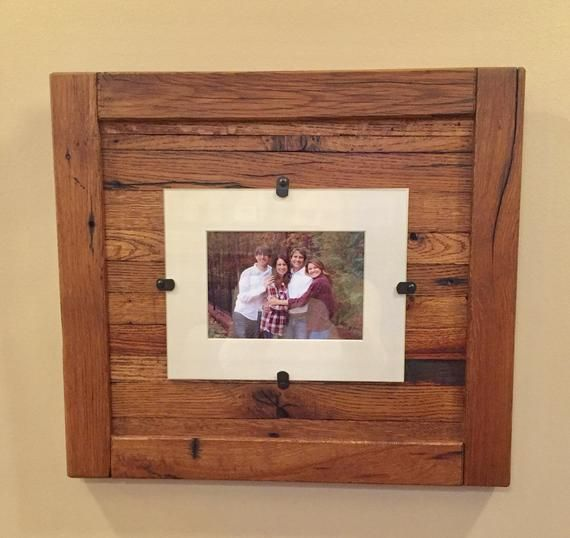 Reclaimed Wood Frames Rustic Wood Frames Set Of 2 5 X 7 Etsy Wood Picture Frames Rustic Wood Frame Reclaimed Wood Frames