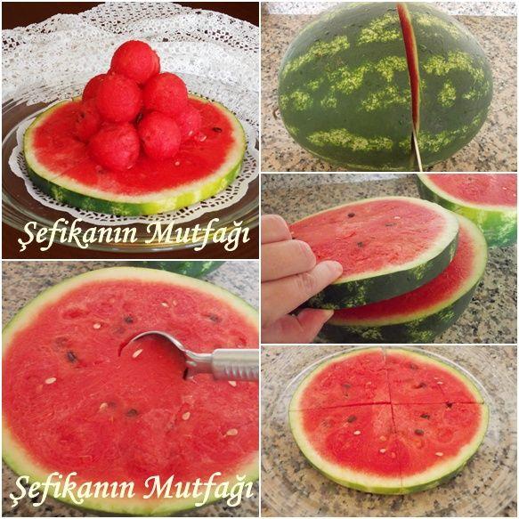 Bu #yaz sıcaklarında #iftar sofralarımızda eksik olmayacak bir #meyva #karpuz #lezzet #watermelon