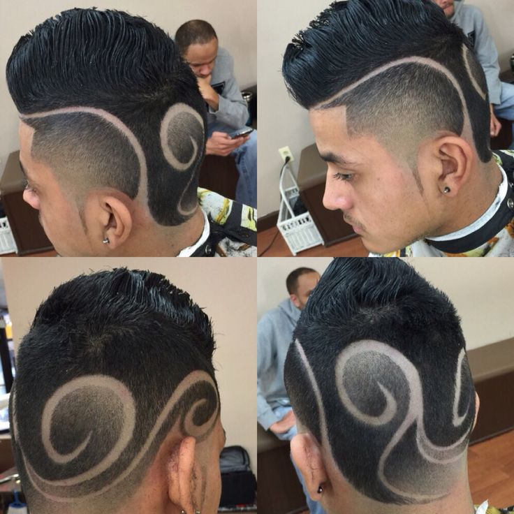 Freestyle design done by Nba approved barber @edubdatdude