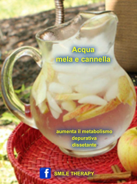 Acqua mela e cannella
