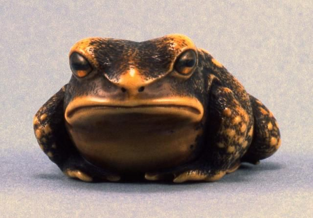 Toad Netsuke