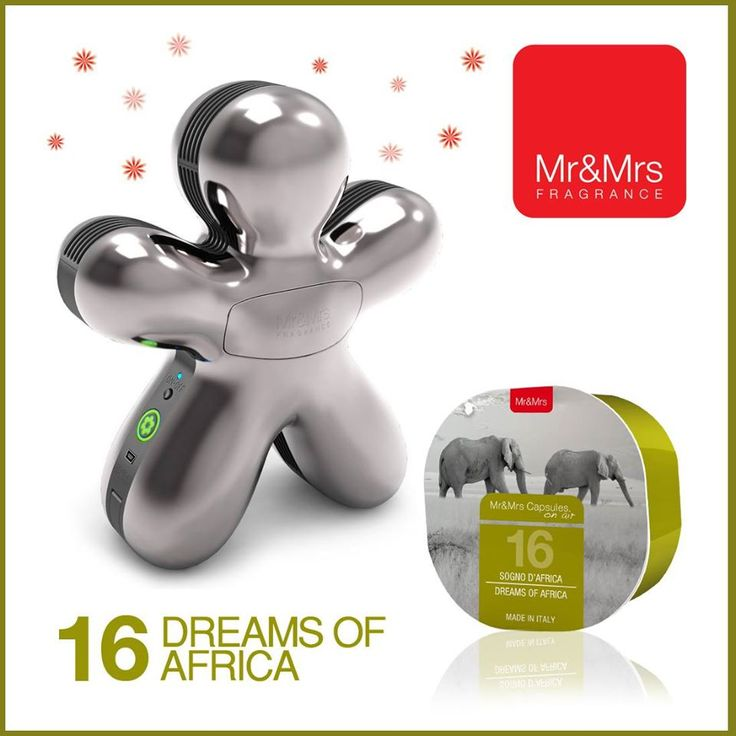 Capsules on Air® #16 Dreams of Africa