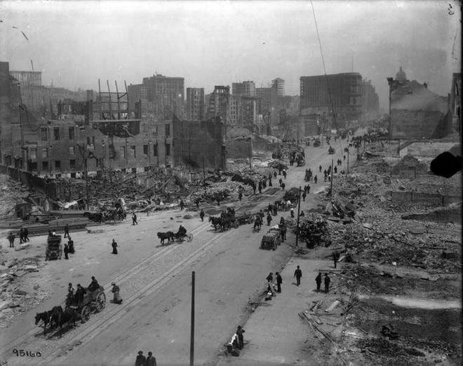 The Great San Francisco Earthquake, 1906