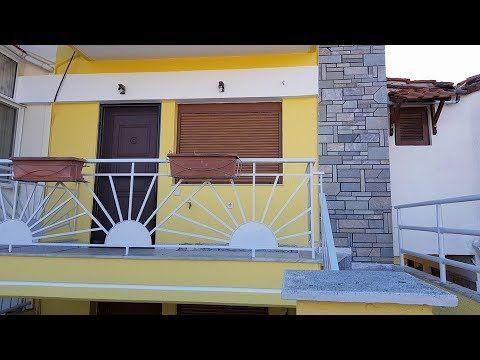 Maisonette mit 110 qm 50 Meter entfernt vom Strand in Nea Plagia  Chalki...