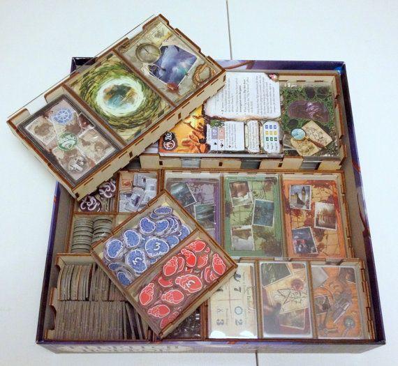 Eldritch Horror board game wood insert to por BoardGamesFactory