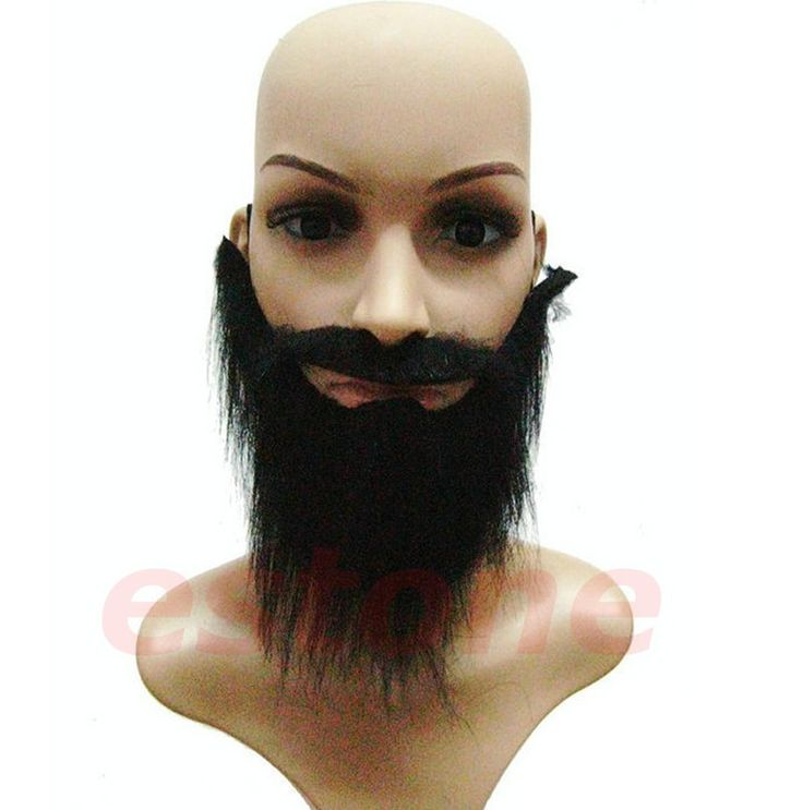 >> Click to Buy << Wholesale Funny Costume Fancy Party Halloween Fake Beard Moustache Mustache Facial Hair-F1FB #Affiliate