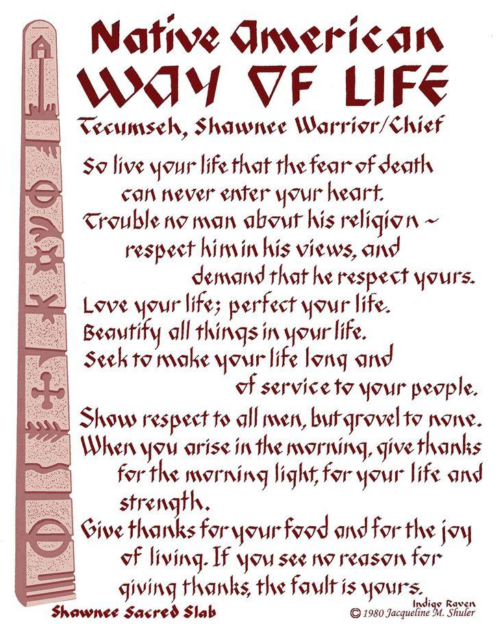 "Tecumseh Poem | Act of Valor"" movie Tecumseh Quote"
