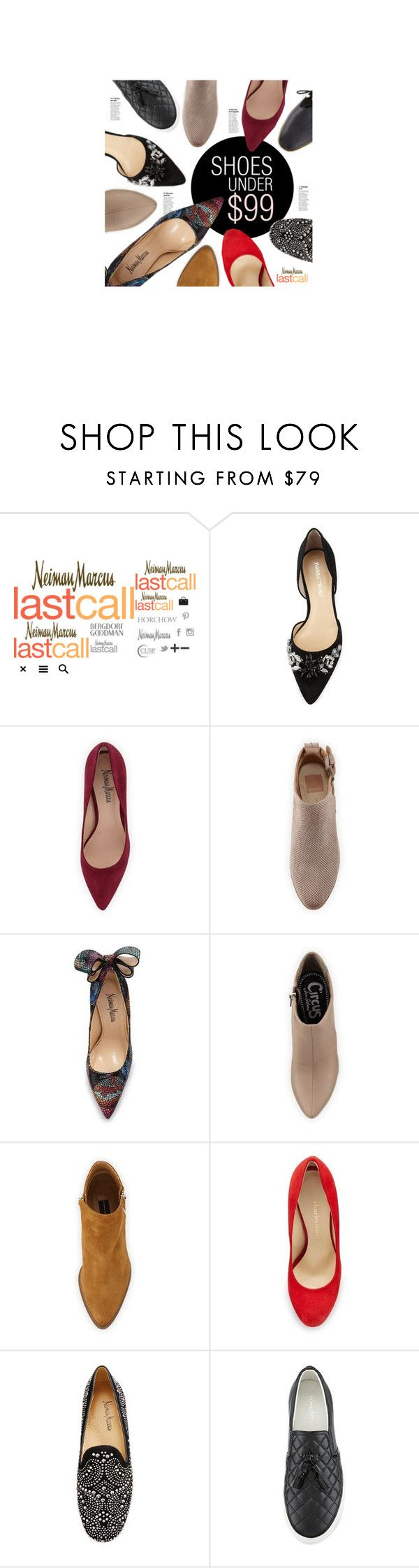 """Shoes Under $99"" by lastcall ❤ liked on Polyvore featuring Lydell NYC, Ivanka Trump, Neiman Marcus, Dolce Vita, Circus by Sam Edelman, Charles David, Donald J Pliner and Adrianna Papell"