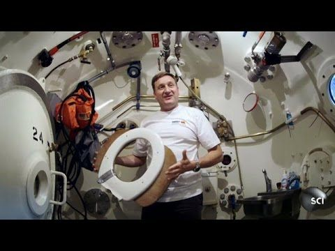 Saturation Divers Live Under the Sea for Weeks | World's Strangest - YouTube