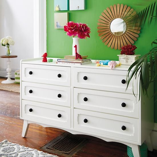 Monarch 6 Drawer Dresser in Dressers | The Land of Nod