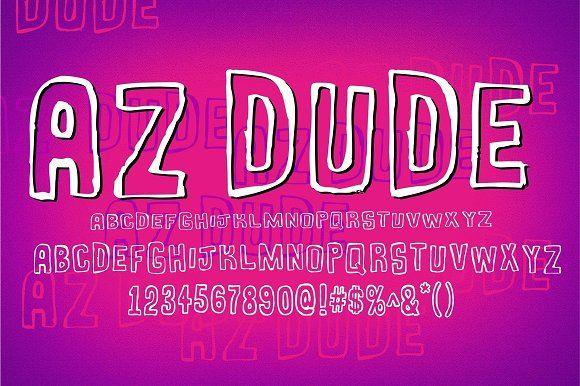 AZ Dude by Artistofdesign on @creativemarket