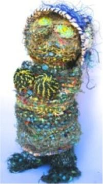 Florence Gutchen, Usari, 2012 - Ghost nets, 60x10 cm © The Artist