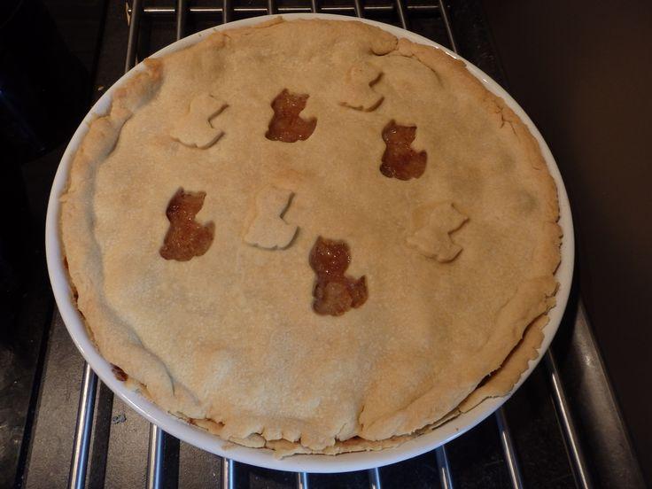 Apple pie - Jablečný koláč křehký  (recept z pořadu ČT Dobré ráno)