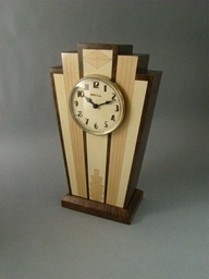 Art Deco Mantle Clock by MWB Studios