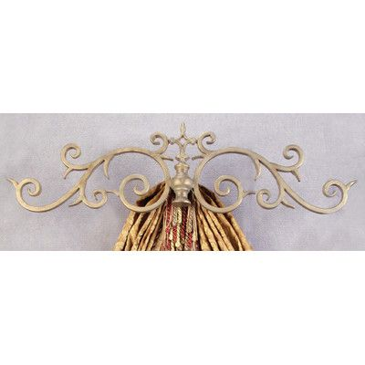 Found it at Wayfair - Casa Artistica Top Treatment Large Royal Curtain Bracket