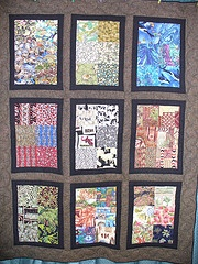 Russell's Kiwiana charm quilt