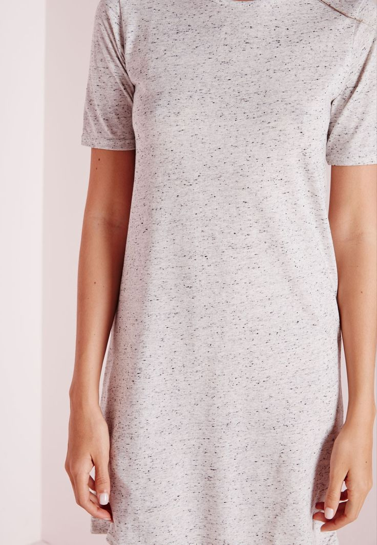 Shirt Dress Cream Marl | Outfit ideas | Pinterest | Jersey, T Shirt ...