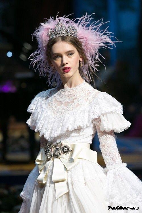 Dolce&Gabbana Alta Moda 2017 — высокая мода во всей своей роскошной красе